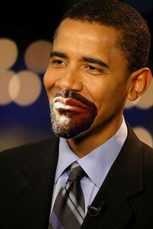 "President Obama announced that his re-election campaign would focus on change that wasn't as difficult as he promised last election, vowing to alter such things as his personal grooming and wardrobe. One item he promised to change, if re-elected, was his facial hair, noting that he could grow a ""cool-ass goatee."""