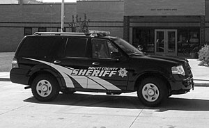 Several Steamboat Springs Sheriff's vehicles are sporting a bold new look.