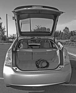 "Because they couldn't get the trunk to latch, Toyota introduced its new ""adjustable-trunk model,"" complete with free bungee chords."