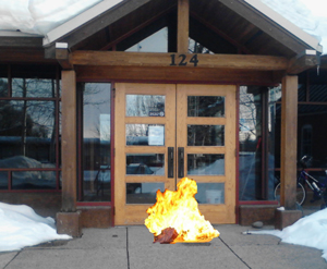 City Council's recent meeting came to a halt for several minutes when a flaming bag of poop was left outside of Centennial Hall. Jilted members of the police and fire departments were considered the prime suspects, but an official police investigation led to no arrests.