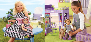 For only $200,000, tasteful and refined would-be parents can adopt a real girl to match their American Girl dolls. The children come with matching outfits, pre-programmed manors, an adorable accent of parents' choice and a permanent desire to have whatever they want at all times, regardless of cost or need.
