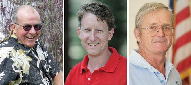 City Council candidates will include Scott Ford (District 2), Clark Davidson (District 1) and John Fielding (District 1)
